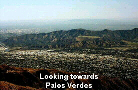 Looking towards Palos Verdes